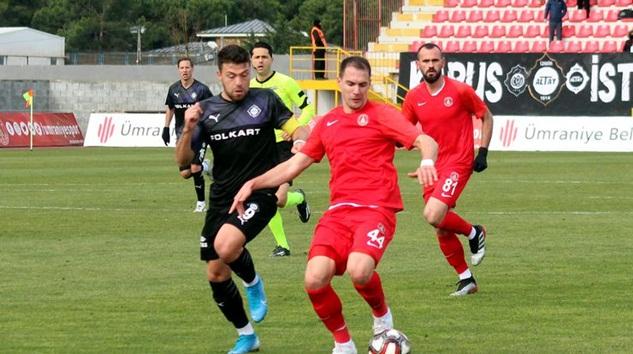 TFF 1.Lig'den Ümraniyespor Altay'ı tek golle geçti