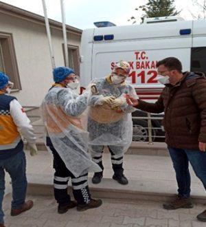 Aksaray'da koronavirüs paniği yaşanıyor 12 kişi hastaneye kaldırıldı