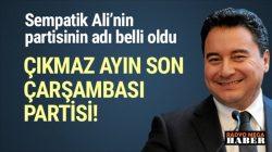 Ali Babacan'ın yeni partisinin kuruluş tarihiyine ertelendi