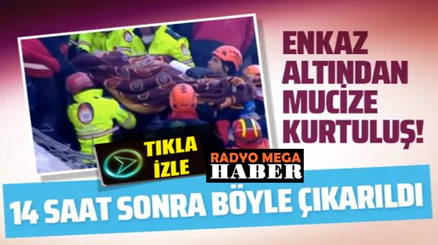 Elazığ, Deprem mahali Mustafapaşa'dan 14 saat sonra mucize kurtuluş