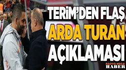 Fatih Terim'den Denizlispor maçının ardından Arda Turan açıklaması