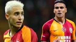 Galatasaray'da Falcao ve Emre Mor birbirine girdi