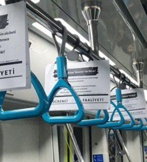 Marmaray'da Üniversitelilerden deprem vergileri nerede eylemi