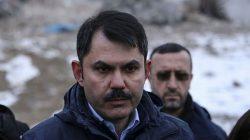 Bakanı Murat Kurum'dan Elazığ'daki konutlarla ilgili açıklama!
