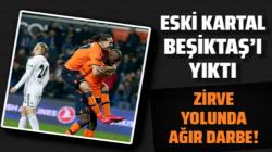 Başakşehir, Beşiktaş'ı Demba Ba'nın golüyle yıktı geçti