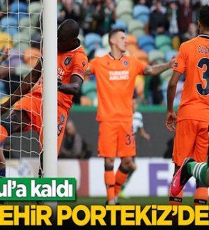 Başakşehir, Portekiz'de Sporting Lizbon karşısında dağıldı