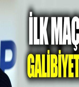 Sergen Yalçın , Beşiktaş'ta Rizespor galibiyetiyle ilk maçını kazandı