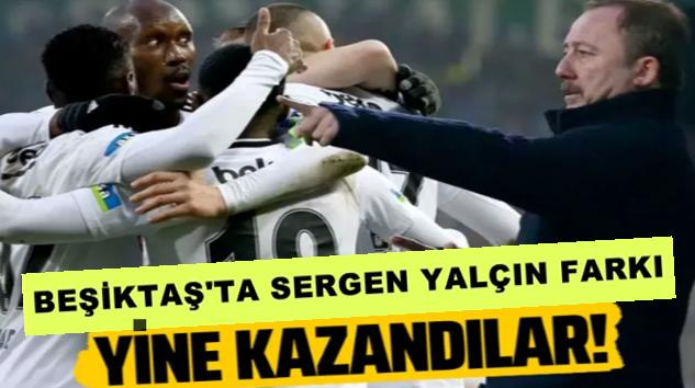 Beşiktaş, Sergen Yalçın'la hedefe  dolu dizgin tam gaz!
