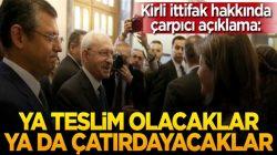 CHP ile HDP arasında kapalı kapılar ardında yapılan ittifak, HDP'yi kızdırdı
