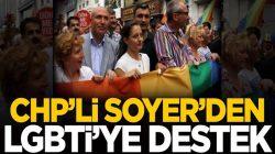 CHP'li İzmir büyükşehir belediye başkanı Tunç Soyer'den LGBTİ'ye destek