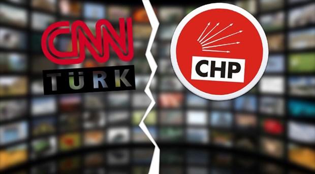 CHP'nin CNN Türk'ü boykotu işe yaramadı CHP'liler CNN Türk'e çıkıyorlar