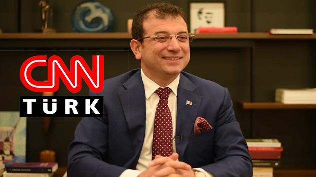 Ekrem İmamoğlu CHP'nin boykotunu CNN Türk'teki Tarafsız bögeye katılarak delecekmi?