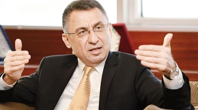 Fuat Oktay, Mustafa Akıncı'nın küçük hesaplarına müsaade etmeyeceğiz!