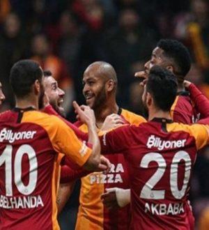 Galatasaray Süper lig'de Kayserispor'u 4 golle geçti