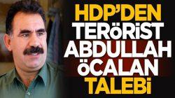HDP'den Bebek Katili Abdullah Öcalan talebi geldi