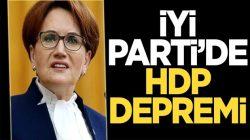 İYİ Parti'de istifaların ardı arkasının kesilmemesinin sebebi HDP