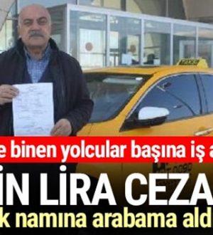 Kırşehir'de Kaçak göçmen taşıyan taksiciye ceza şoku!