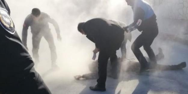 Kendini yakan işçi CHP'li Mersin Büyükşehir Belediyesi işten çıkartmış