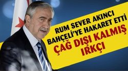 KKTC Cumhurbaşkanı MHP Lideri Bahçeli'ye hakaret etti