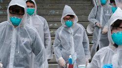 Koronavirüsüyle mücadelede maske takma anlamsız