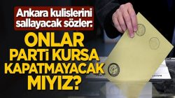 Mehmet Metiner'den, Ankara kulislerini sallayacak sözler