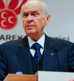 MHP Lideri Bahçeli Yansın Suriye yıkılsın İdlib Türkiye Şam'a girsin