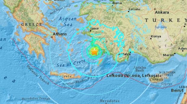 Muğla, Fethiye'de deprem! Türkiye adeta beşik gibi sallanıyor