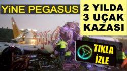 Pegasus hava yolları uçaklarının üçüncü kazası