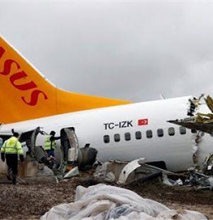 Pegasus'un Pistten çıkan uçağının kara kutusundan skandal çıktı !