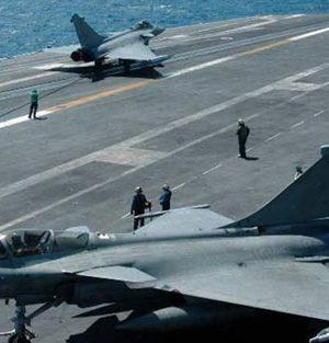 Rum ve Fransızlar Doğu Akdeniz'de hava savunma sistemini test etti