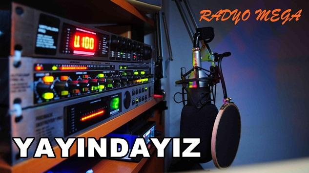 Türkiye'nin Mega Radyosu radyo mega mega müzik  sloganıyla yayında