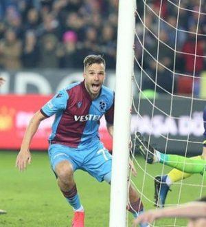 Trabzonspor, süper lig'de Fenerbahçe'nin galibiyet serisine son verdi