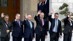 Vali Ali Yerlikaya, Dört büyük takımın başkanlarını buluşturdu