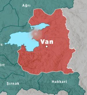 Van'da deprem hemde 2 dakika arayla sarsıntılar van halkını korkuttu