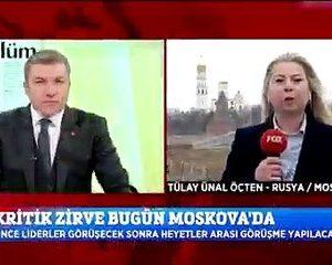 Fox tv'den Tülay Ünal Öçten'e Rus polisi müdahale etti