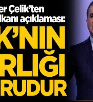 """AK Parti sözcüsü Ömer Çelik """"Bahar Kalkanı Harekatı"""" meşrudur!"""