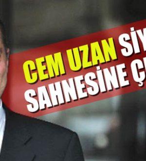 Cem Uzan, Genç Parti ile 21 Mart tarihinde yeniden siyasete giriyor