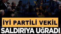 İYİ Parti Denizli Milletvekili Yasin Öztürk makamında saldırıya uğradı