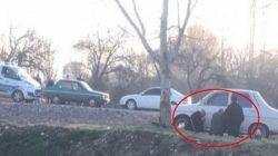 Kahramanmaraş'ta Polisi gören yaşlı amcalar böyle görüntülendi
