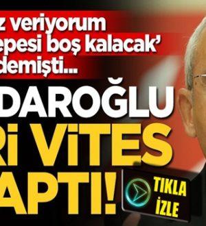 Kemal Kılıçdaroğlu: Şehitler tepesi boş değil ki dedi