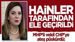 MHP'li Arzu Erdem CHP'ye ateş püskürdü: Hainler tarafından ele geçirildi