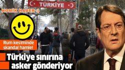 Nikos Anastasiadis, Türkiye sınırına asker yollayacağını duyurdu