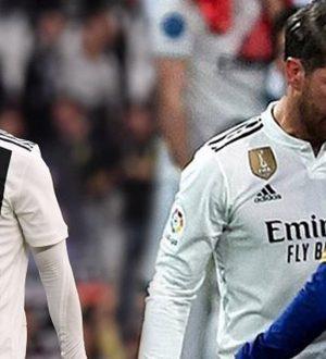 Ronaldo, Real Madrid Barcelona maçı devre arasında soyunma odasına indi