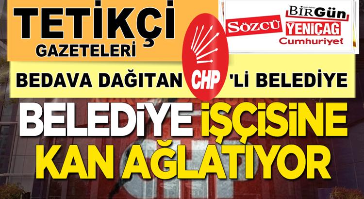 Atakum Belediyesi Yeniçağ,Sözcü ve Birgün gazetelerini dağıttı
