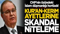 CHP'li Faik Öztrak Cuma Hutbesinde okunan ayetleri yok saydı