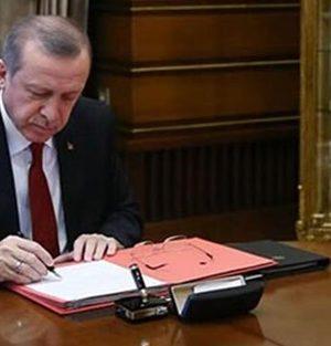 Cumhurbaşkanı Erdoğan imzaladı! 2 bakanlıkta değişiklik yapıldı