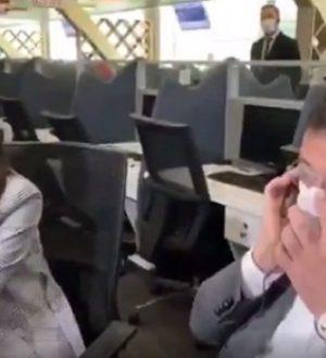 """Ekrem İmamoğlu Beyaz Masa'da! """"Telefonun başında çaresizim"""""""