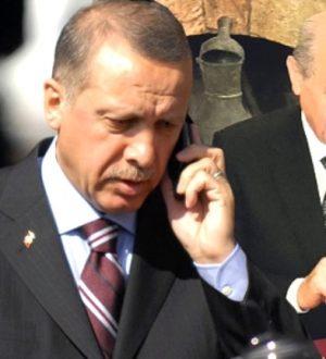 Erdoğan'dan Bahçeli ve Tuğrul Türkeş'e taziye telefonu