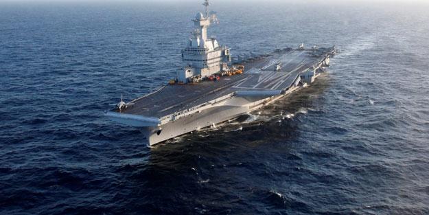 Fransa'nın uçak gemisinde koronavirüs vaka sayısında patlama