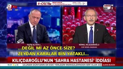 Kılıçdaroğlu'nun 'Erdoğan bile yapamaz' dediği CHP'nin sahra hastanesi